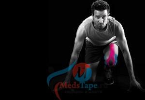 Тейпирование колена в различных видах спорта