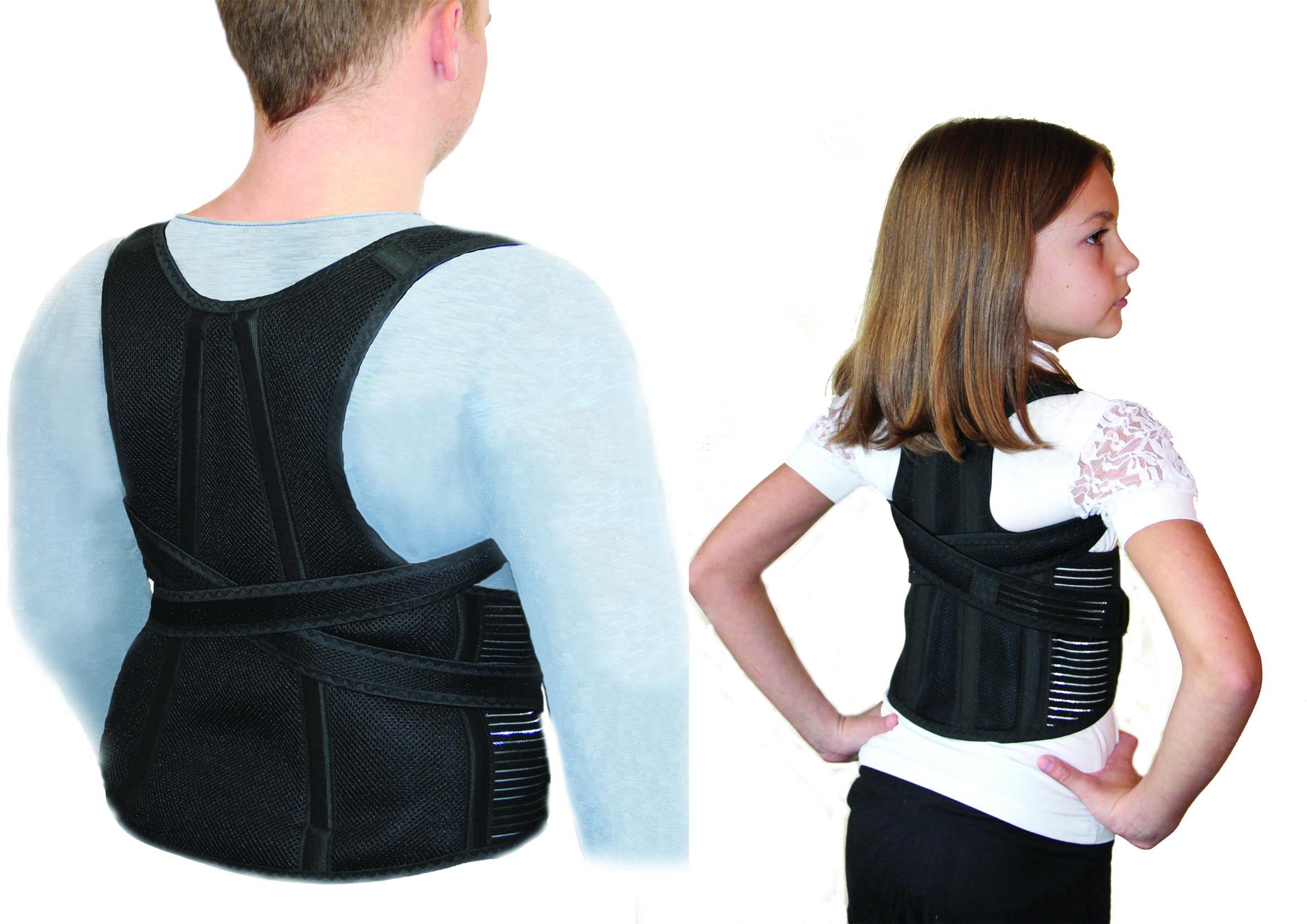детский корсет для спины