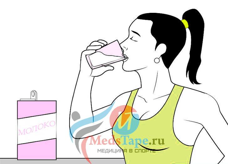 1. Обеспечьте свой организм достаточным количеством кальция.