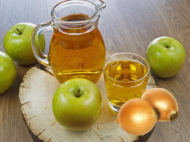 Яблочно-луковый сок