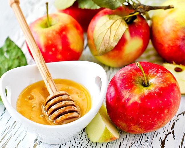 Яблоки с медом от кашля
