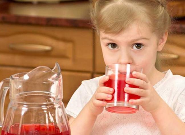 Клюквенный сироп от кашля для детей