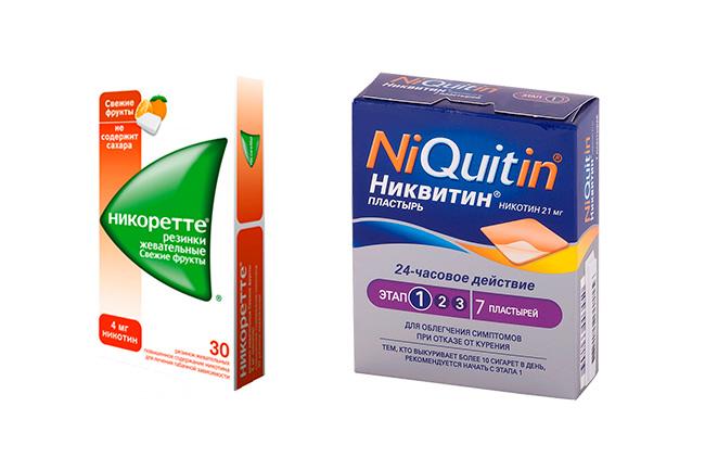 Препараты от никотиновой зависимости