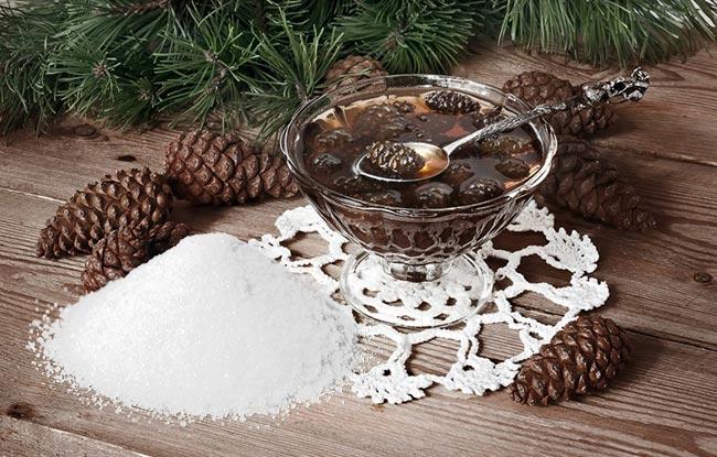 Сосновые шишки с сахаром