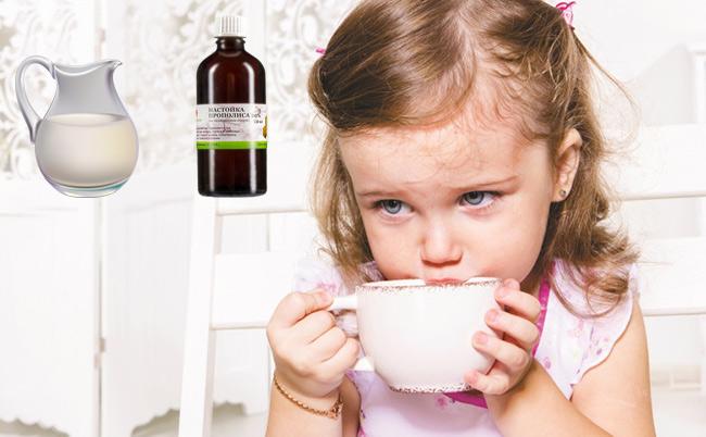 Терапия респираторных инфекций у ребенка прополисом