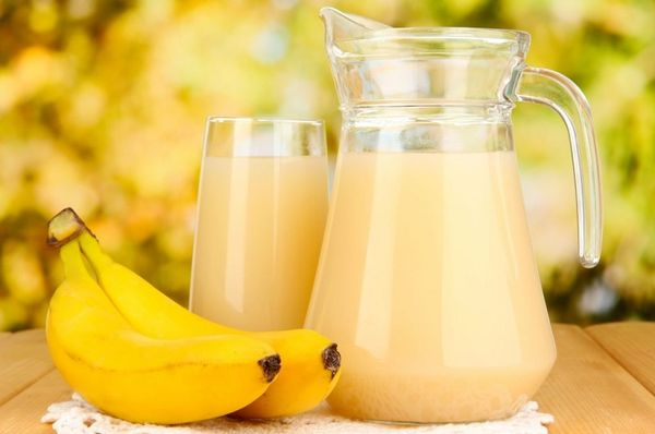 Банановый коктейль от кашля