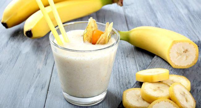 Банан, какао и молоко - средства от кашля