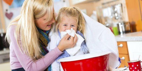Картофельная ингаляция при кашле и простуде у ребенка