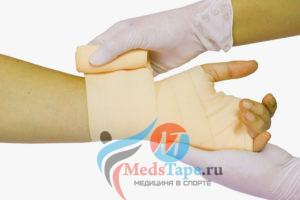 Применение эластичного бинта в медицине и клинической практике