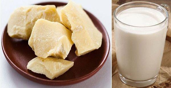 Масло какао с молоком при кашле