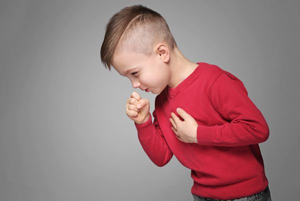 Аллергический кашель у мальчика