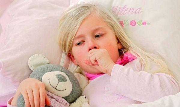 Мучительный кашель у ребенка
