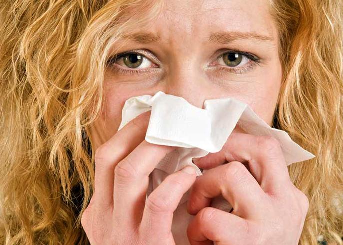 Насморк при аллергии
