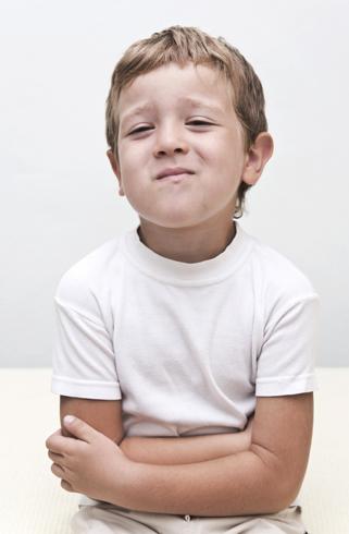 Колики у ребенка