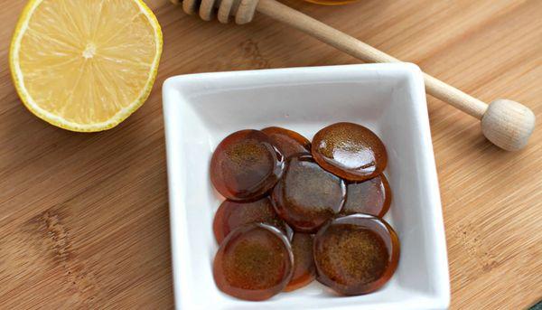 Жженый сахар с лимоном от кашля